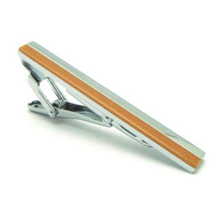 Prendedor-de-gravata-retangular-meio-prata-e-meio-caramelo