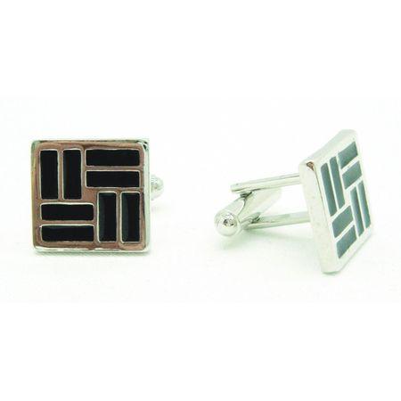 Abotoadura-quadrada-prata-com-preto-e-retangulos