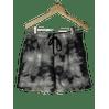 Shorts-Micro-Elastano--Preto-Estampado-Mesclado