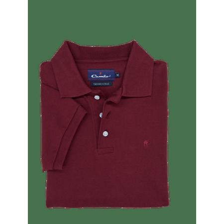 Camisa-Polo-Piquet-Vinho