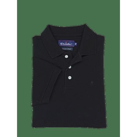 Camisa-Polo-Piquet-Preto