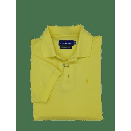 Camisa-Polo-Piquet-Amarelo