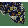 Gravata-Slim-Algodao-Floral-Azul--Flores-Amarelas