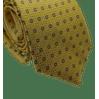 Gravata-Slim-Poliester-Desenhos-Amarela