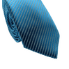 Gravata-Super-Slim-Com-Desenho-Listrado-Em-Poliester-Azul-Textura-Small